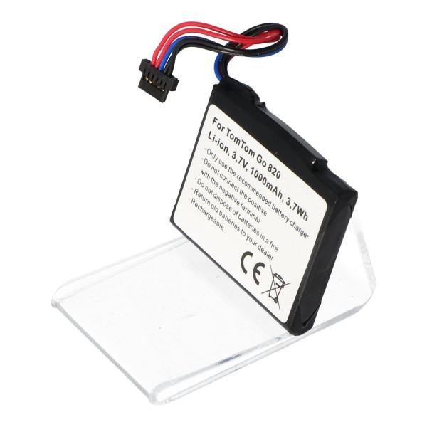 Accu geschikt voor TomTom G0 825, Go 820, Go Live 820, Go Live 825 batterij AHL03711022, AHL03711023, VF6M