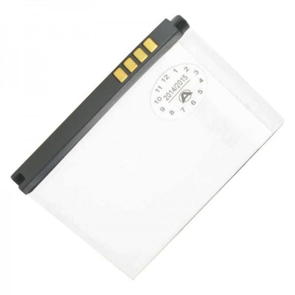 AccuCell-batterij geschikt voor de LG BL20-batterij, 700 mAh