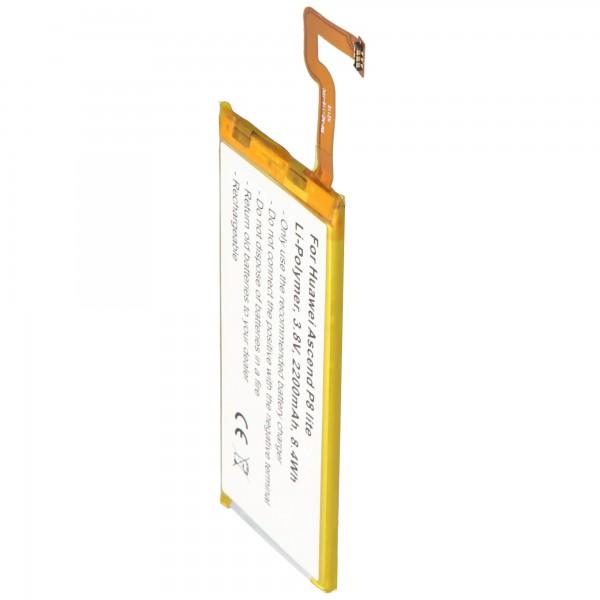 Accu geschikt voor Huawei Ascend P8 lite 3.8 volt 2200mAh