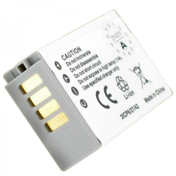 AccuCell-batterij geschikt voor Nikon 1 J5-batterij EN-EL24-batterij
