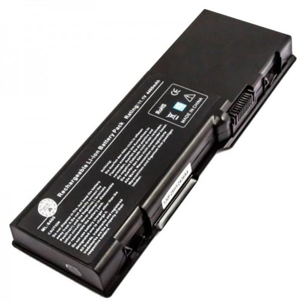 AccuCell-batterij geschikt voor Dell Inspiron 6400, E1505 4400mAh
