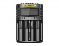 Nitecore UMS4 USB-snellader QC 2.0 compatibel voor Li-Ion-batterijen