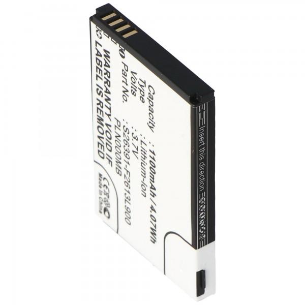 AccuCell-batterij geschikt voor Fujitsu-Siemens Pocket Loox N110