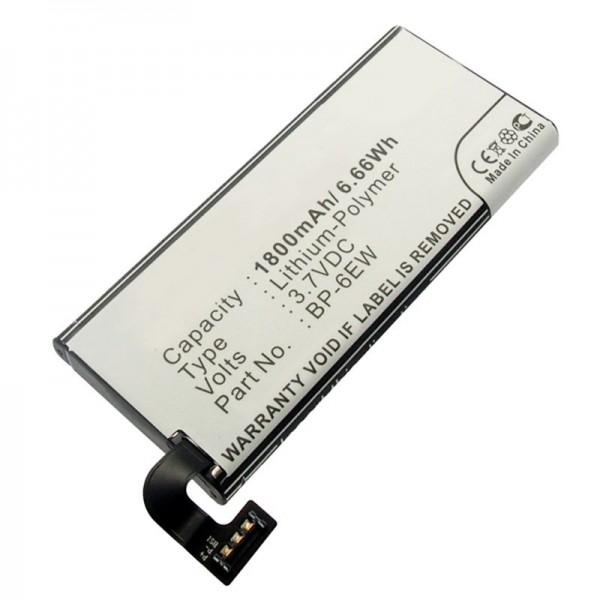 AccuCell-batterij geschikt voor Nokia Lumia 900-batterij, Lumia 900 4G LTE