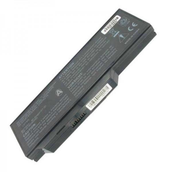 AccuCell-batterij geschikt voor MD97470 11,1 volt 6600 mAh