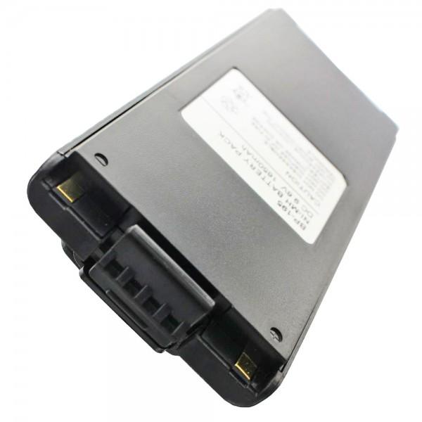 Batterij geschikt voor ICOM IC-F3, IC-F4, BP-196 NiMH-batterij 1200mAh