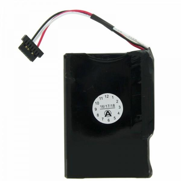Medion GoPal E4230 oplaadbare batterij van AccuCell voor M1100-batterij