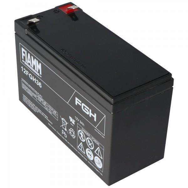 Fiamm 12FGH36 batterij PB loodbatterij