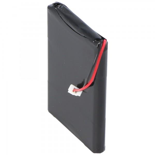 AccuCell-batterij geschikt voor Garmin Quest 1000mAh