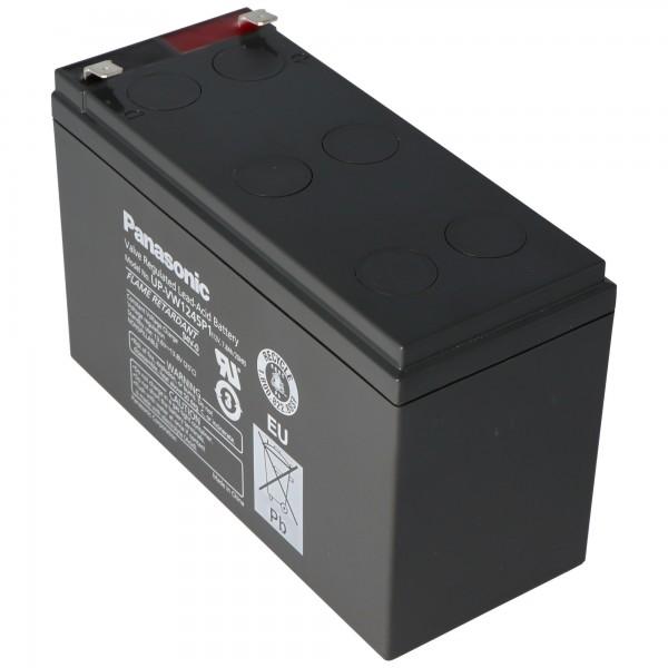 Panasonic UP-RW1245P1 batterij PB 12Volt 7,8Ah, 9Ah, LC-R129P1, LC-R129CH1 (voorheen 9Ah, nu 7,8Ah) NIEUW nu UP-VWA1245P1