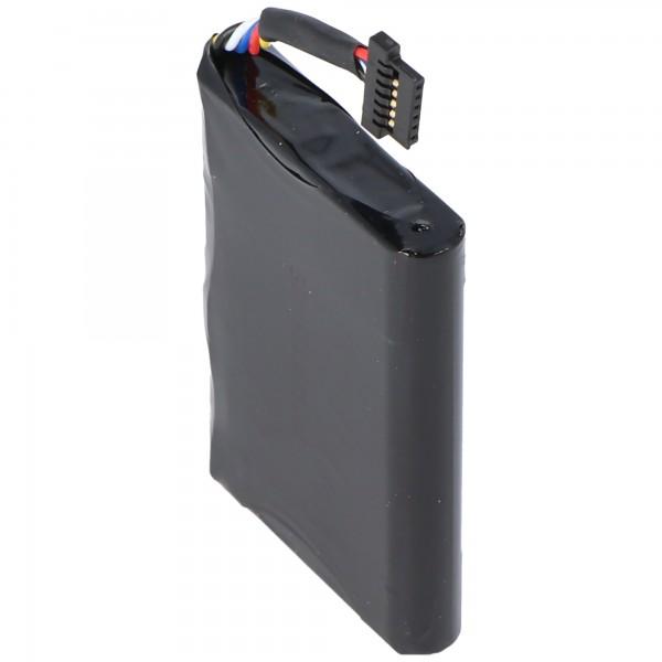 AccuCell-batterij geschikt voor Blue Media 255-batterij
