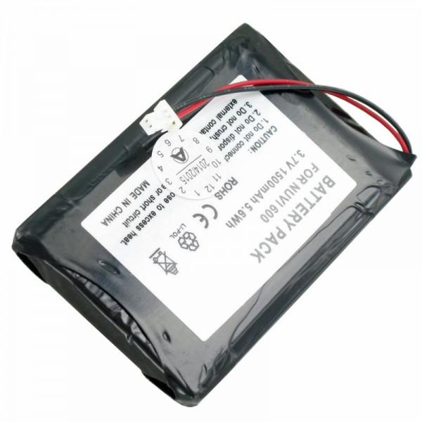 AccuCell-batterij geschikt voor Garmin Nuvi 600, D25292-0000