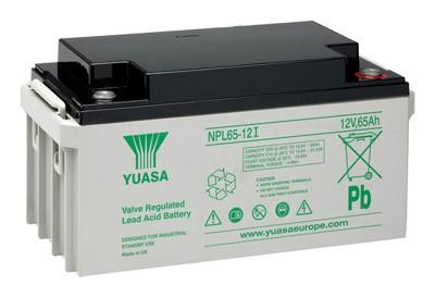 YUASA NP65-12 accukabel PB 12 volt 65000mAh