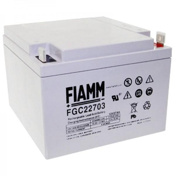 Fiamm FGC22703 batterij Cyclisch, 27Ah