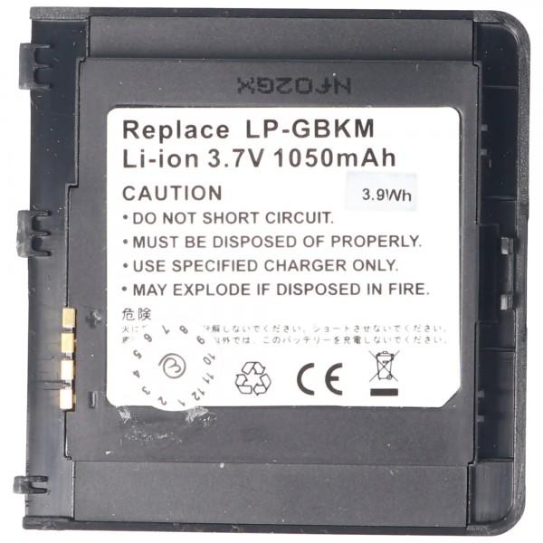 AccuCell-batterij geschikt voor LG KS20, LGLP-GBKM, SBPP0023301