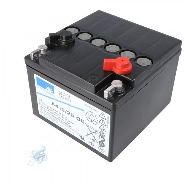 Sonnenschein Dryfit A412 / 20G5 batterijkabel PB 12Volt 20Ah