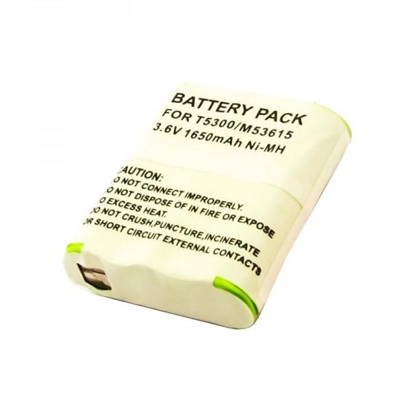 Accu geschikt voor Motorola HKNN4002A Talkabout FV500, T9500 3.6 volt 1650mAh