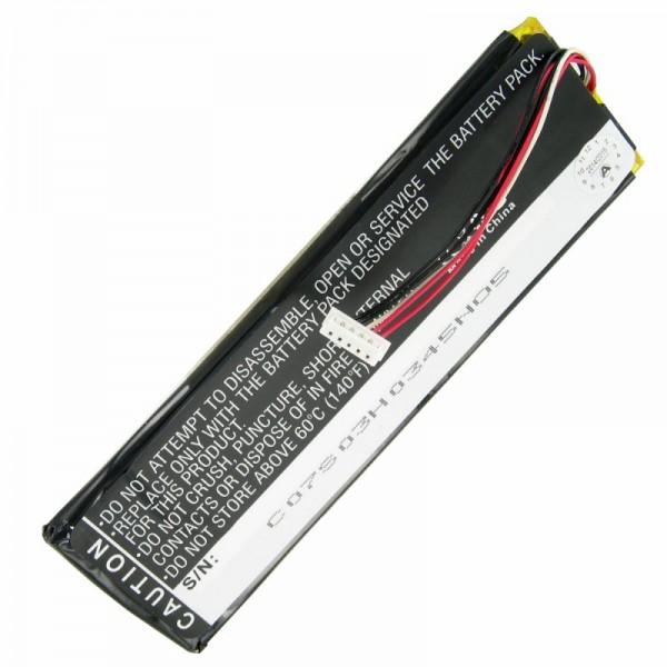 AccuCell-batterij geschikt voor Sonos CB100, CR100-afstandsbediening