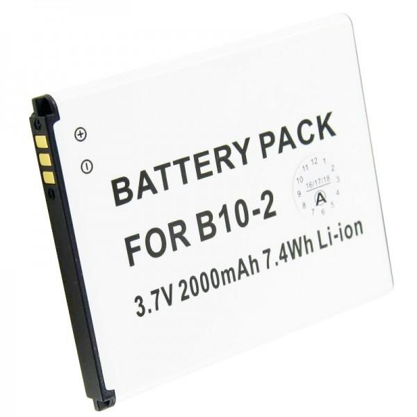 Caterpillar CAT B15-batterij B10-2 als vervangende batterij van AccuCell