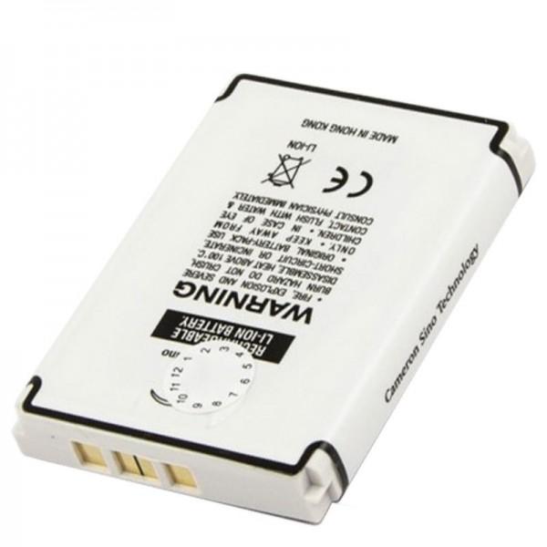 AccuCell-batterij geschikt voor Globalsat BT-359, 950mAh