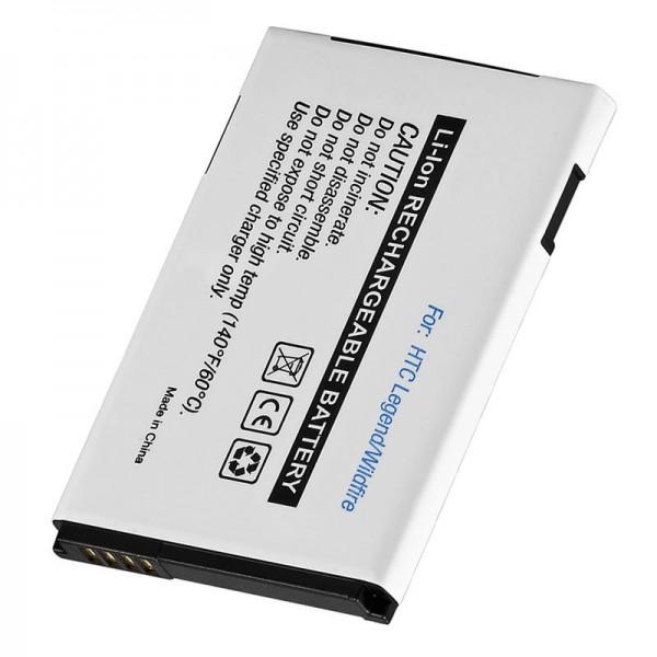 AccuCell-batterij geschikt voor HTC Touch Pro2, HTC Snap, 35H00123-00M