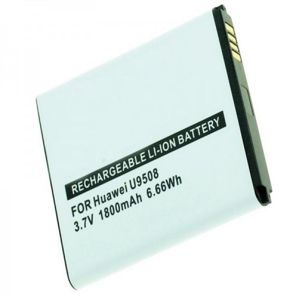 Huawei Honor 2, U9508, Honor Quad-batterij met 1800 mAh van AccuCell