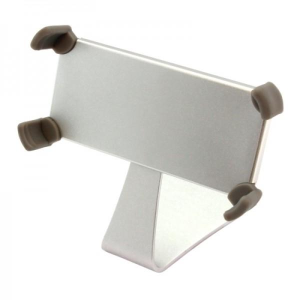 Standaard aluminium voor iPhone 4 / 4S / 5 zilver - draaibaar