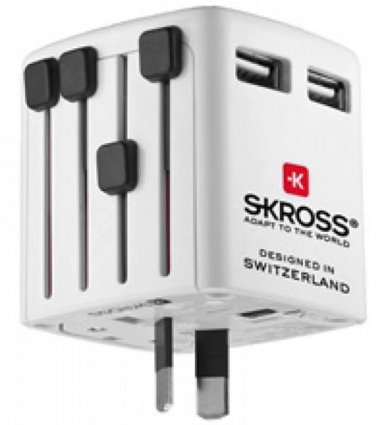 SKROSS World USB-oplader USB-oplader 1300 mA