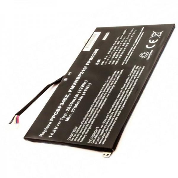 Batterij geschikt voor Fujitsu batterij FMVNBP219, FPB0280, FPCBP345Z