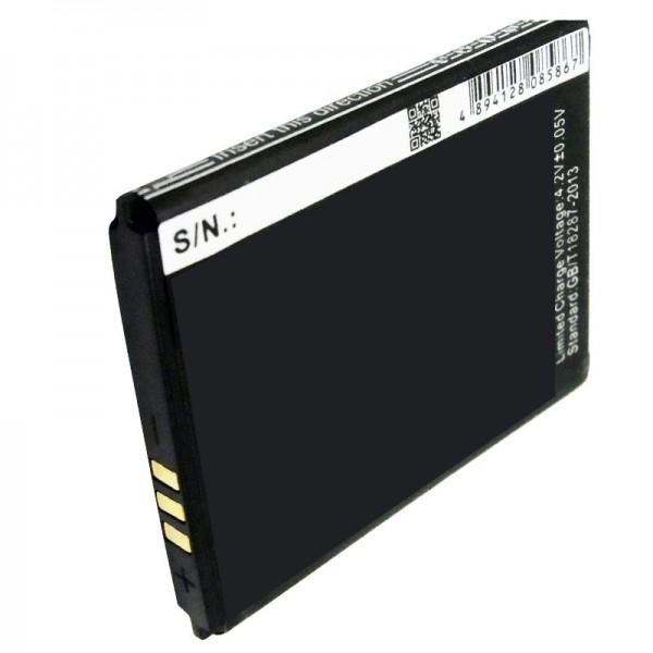 AccuCell-batterij geschikt voor mobiele telefoonbatterij Wiko MINIMI-batterij