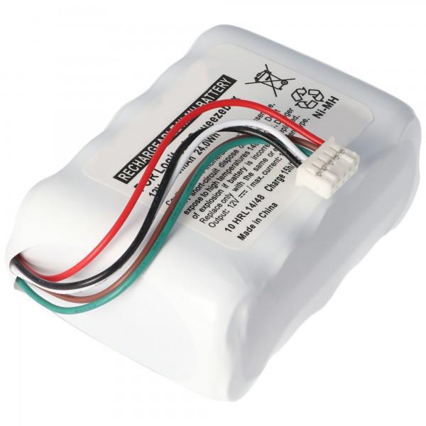 Logitech Squeezebox, 533-000050, HRMR15 / 51, NT210AAHCB10YMXZ vervangende batterij