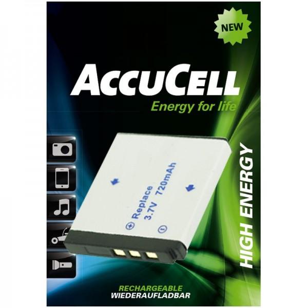 AccuCell-batterij geschikt voor Rollei XS-10 in touch-batterij