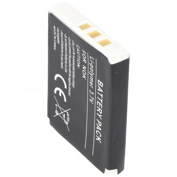 AccuCell-batterij geschikt voor Nokia 3410, BLC-1, 1200mAh