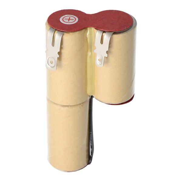Batterij geschikt voor Gardena ACCU3 batterij gazonrandschaar Accu 3 met 2500 mAh, met 4,8 mm en 6,3 mm