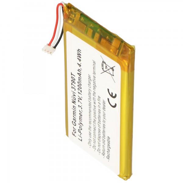 AccuCell-batterij geschikt voor de Garmin Nuvi 3700 batterij 361-00046-02, 361-00064-02