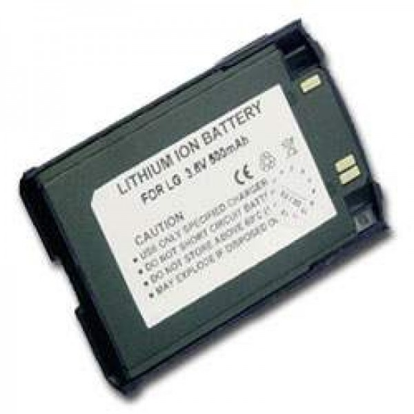 AccuCell-batterij geschikt voor LG 510W, 500mAh donkerblauw