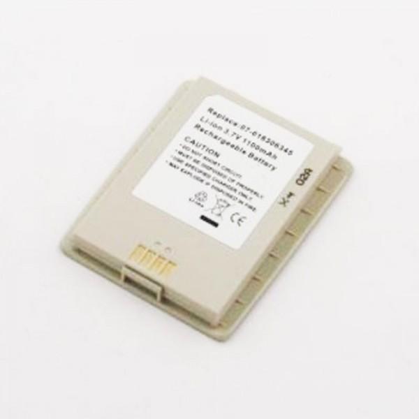 AccuCell-batterij geschikt voor Asus MyPal P505, 07-016306345