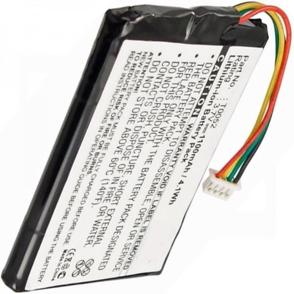 Medion GoPal P4225, GoPal P4425, T0052 replica-batterij van AccuCell