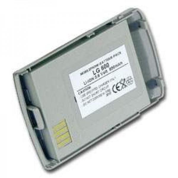 AccuCell-batterij geschikt voor LG 600, 600mAh