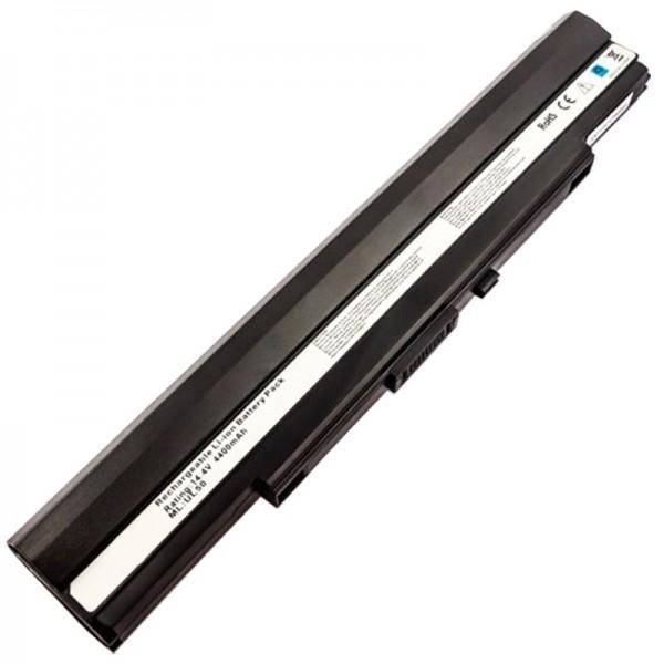 AccuCell-batterij geschikt voor Asus UL30, UL50, A42-UL30, A42-UL50 batterij