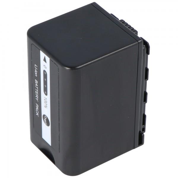Accu geschikt voor Panasonic VW-VBD29 accu VW-VBD58, VW-VBD58E-K, VW-VBD58PPK, 4400mAh