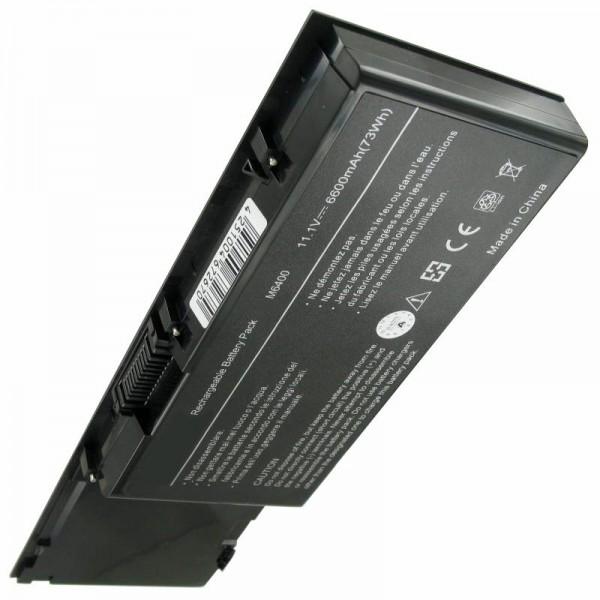 Batterij geschikt voor Dell Precision M6400, M6500 6600mAh