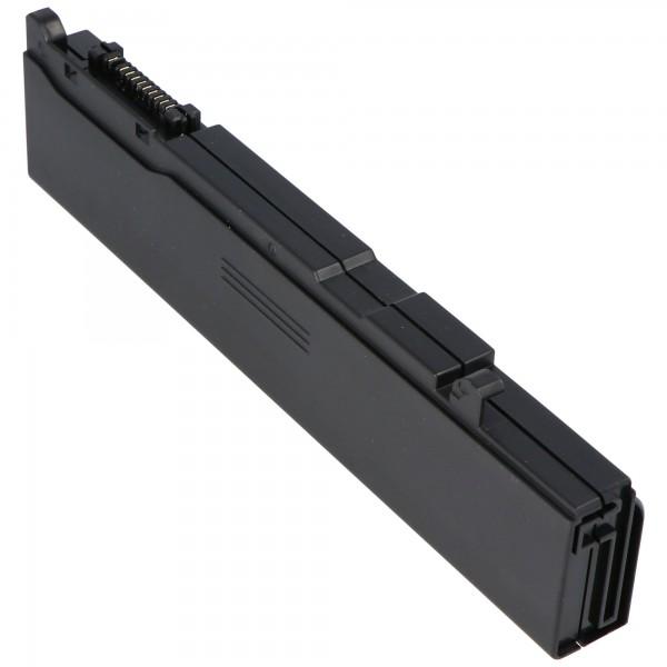 AccuCell-batterij geschikt voor Toshiba Tecra P10, P5, S4 met 4400mAh