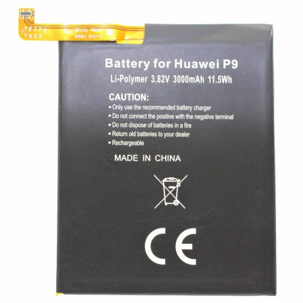 Batterij geschikt voor de Huawei P9, Honor 8 batterij HB366481ECW