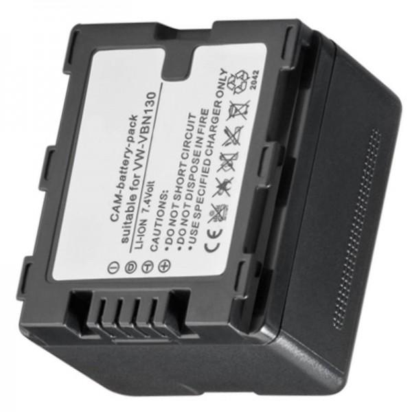 Accu geschikt voor VW-VBN130, VBN-260, HDC-TM900, -HS900, -SD900