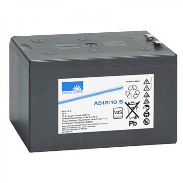 Sonnenschein Dryfit A512 / 10S loodbatterij, VDS nr.: G189231