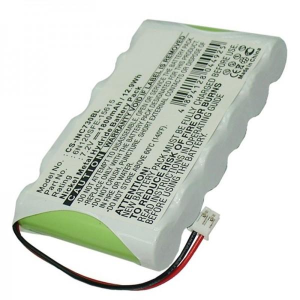 Ingenico Elite 730 replica batterij van AccuCell geschikt voor 6N120SFE-15615 batterij
