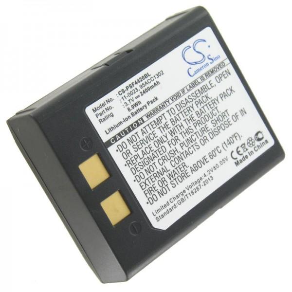 AccuCell-batterij geschikt voor PSC Falcon 4400, Falcon 4410, Falcon 4420