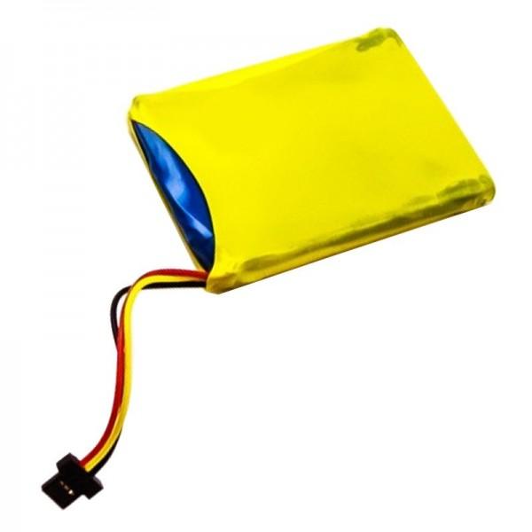 Batterij geschikt voor TomTom 4ET0.002.07, Start XL-batterij P11P16-22-S01