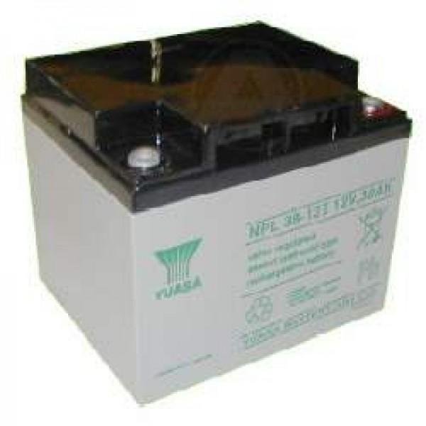 YUASA NP38-12 accukabel PB 12 volt 38000 mAh
